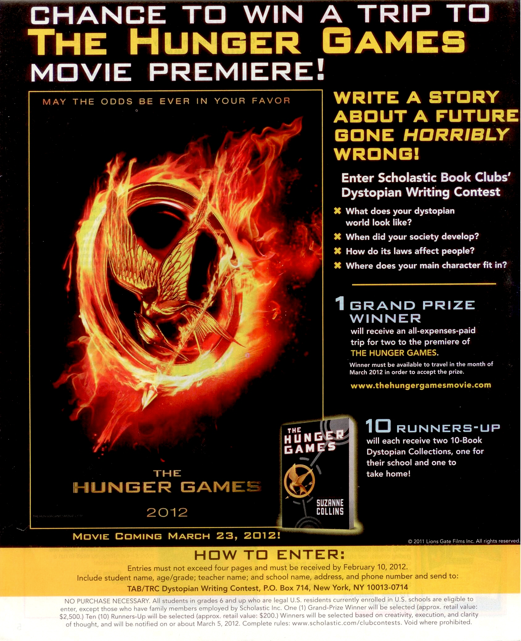 book review of the hunger games